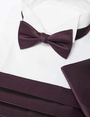 M&S CollectionMarks and Spencer 3 Piece Bow Tie, Cummerbunds & Pocket Square Set