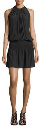 Ramy Brook Paris Sleeveless Blouson Dress $345 thestylecure.com