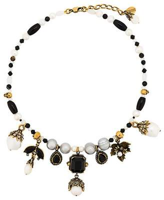Alexander McQueen pearl beaded necklace