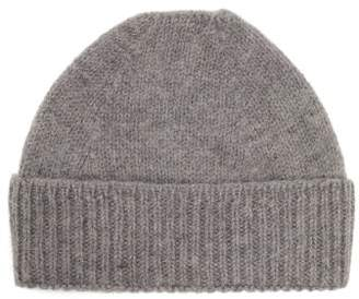 Mhl By Margaret Howell Ribbed Cuff Wool Beanie - Womens - Grey
