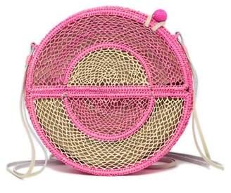 Sophie Anderson Nilsa Woven Straw Crossbody Bag
