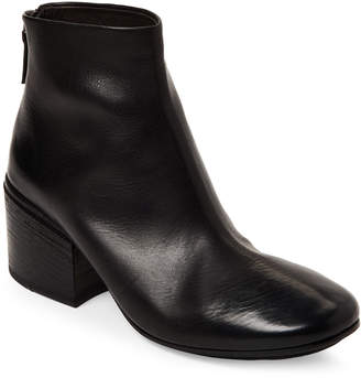Marsèll Funghetto Chunky Leather Ankle Boots