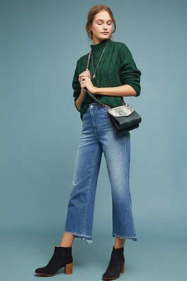 J Brand Joan High-Rise Cropped Wide-Leg Jeans