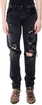 Amiri Men's Destroyed Slouch Denim Jeans