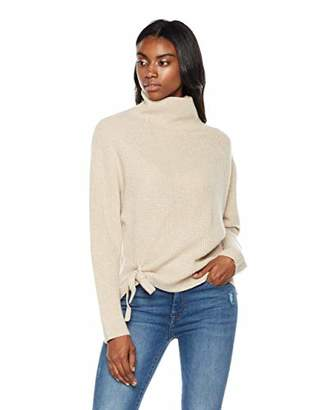 Peplum Pointe Women's Fashion Loose Knit Sweater Turtleneck Chunky Warm Pullover Cashmere Winter Top