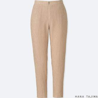 Uniqlo Women's Hpj Crepe Tapered Ankle-length Pants