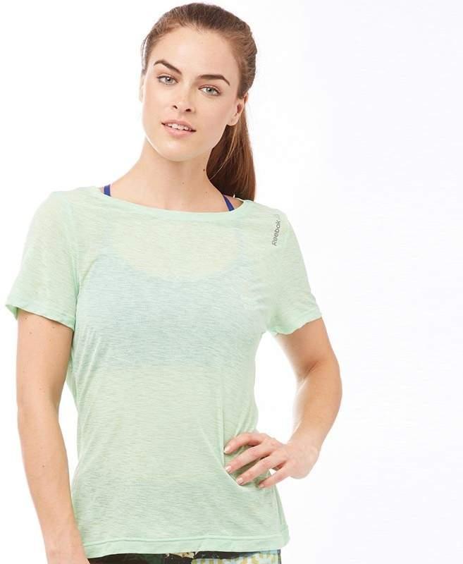 Damen Workout Ready Speedwick Light Slub T-Shirt Grün
