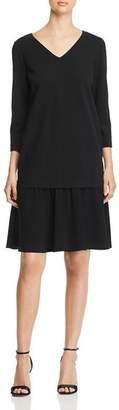 Lafayette 148 New York Larsa Flutter-Hem Dress