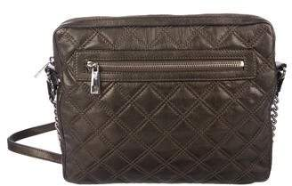 Marc Jacobs Metallic Quilted Leather Crossbody Bag