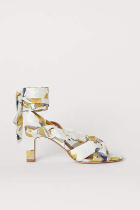 H&M Satin Sandals