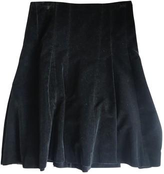 Nicole Farhi Navy Velvet Skirt for Women