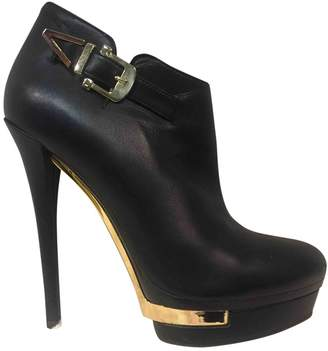 Le Silla Leather ankle boots