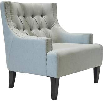 Cafe Lighting Sloane Arm Chair Ice Blue