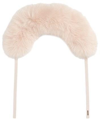 Women's Burberry Genuine Fox Fur Collar