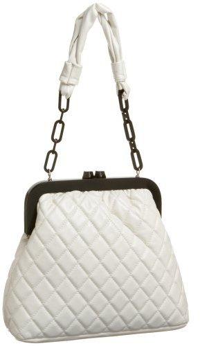 High Fashion Frame Quilted Shoulder Bag