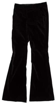 Theory Flared Velvet Pants