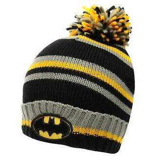 Character Mens Wool Hat Beanie Pattern Stripe Warm Striped Bobble Knitted