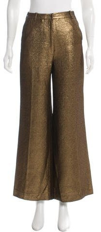 3.1 Phillip Lim 3.1 Phillip Lim Metallic Wide-Leg Pants