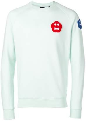 Aspesi patch sweatshirt