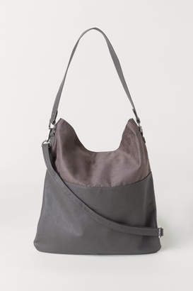 H&M Shopper with Shoulder Strap - Gray