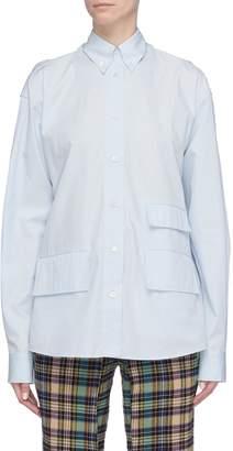 Aalto Cutout cross back panel shirt