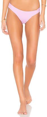 Luli Fama Wavey Ruched Bikini Bottom