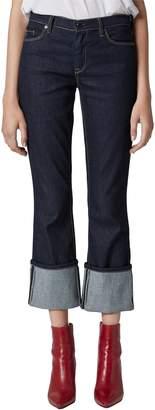 Blank NYC BLANKNYC Cuffed Straight Leg Jeans