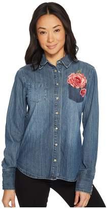 Stetson Boyfriend Fit Western Shirt 60z Women's T Shirt