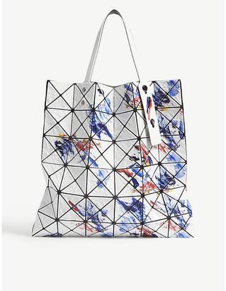 9c1663392544 at Selfridges · Bao Bao Issey Miyake Bao Issey Miyake White Mix Geometric  Painting Prism Tote Bag