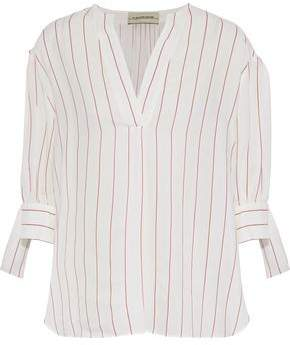By Malene Birger Brigidah Striped Poplin Tunic