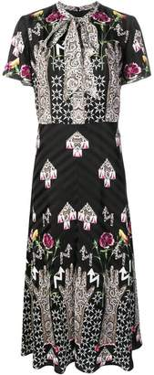 Temperley London geometric print dress