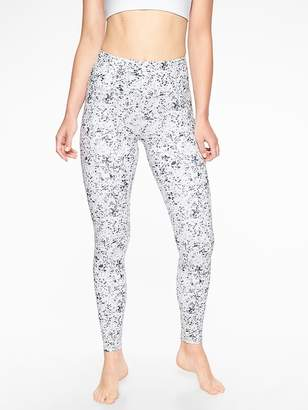 Athleta Sandstone Stash Pocket Salutation Tight