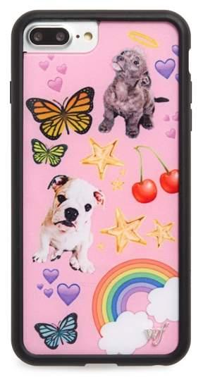 wildflower Puppy Love iPhone 6/7/8 Plus Case