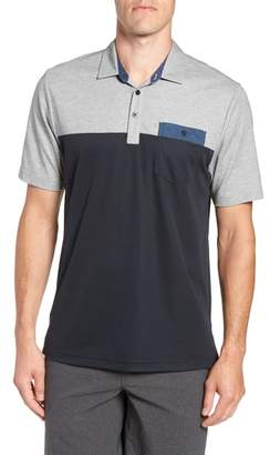 Travis Mathew Four B's Colorblocked Polo