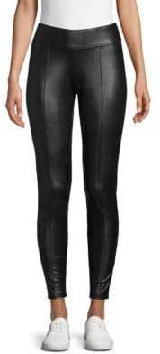Hue Faux-Leather Leggings