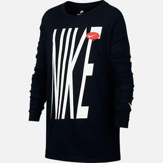 Nike Boys HBR Long-Sleeve T-Shirt