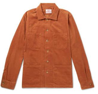 Battenwear Cotton-Corduroy Overshirt