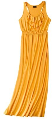 Mossimo Womens Ruffle Front Dress - Assorted Colors