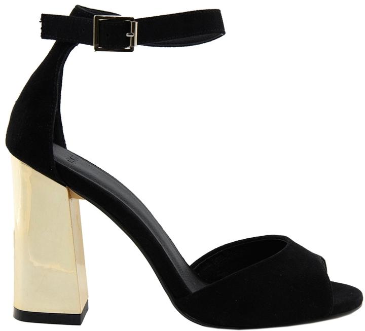 Asos HANDSHAKE Heeled Sandals