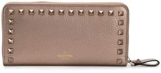 Valentino Rockstud continental wallet