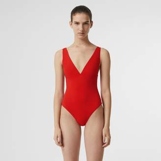 Burberry V-neck Swimsuit