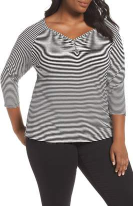 Sejour Sweetheart Neck Top