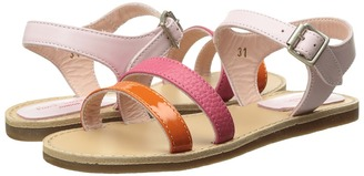 Paul Smith Junior - Pink/Orange Sandals Girls Shoes $158.40 thestylecure.com