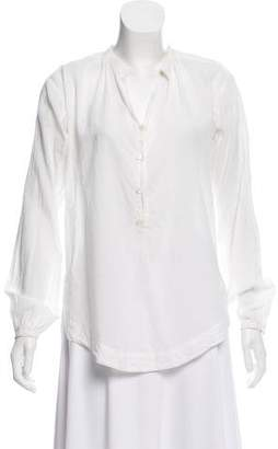 Steven Alan Button-Up Long Sleeve Top