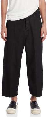 Rick Owens Dustulator Cropped Cut Jeans