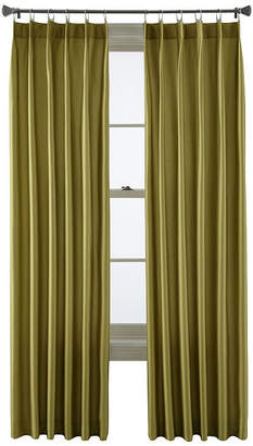 STUDIO BY JCP HOME StudioTM Finley Metal Tab Window Curtain Panel