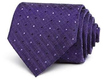John Varvatos Heathered Dot Classic Tie