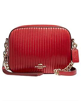 Coach Quilted Leather Camera Bag