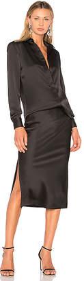 CHRISTOPHER ESBER Bias Shirt & Skirt Dress