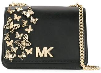 79f4f3600e3a MICHAEL Michael Kors Black Flap Closure Bags For Women - ShopStyle ...